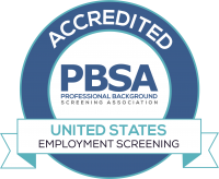Accredited Employment Screening Agency by PBSA